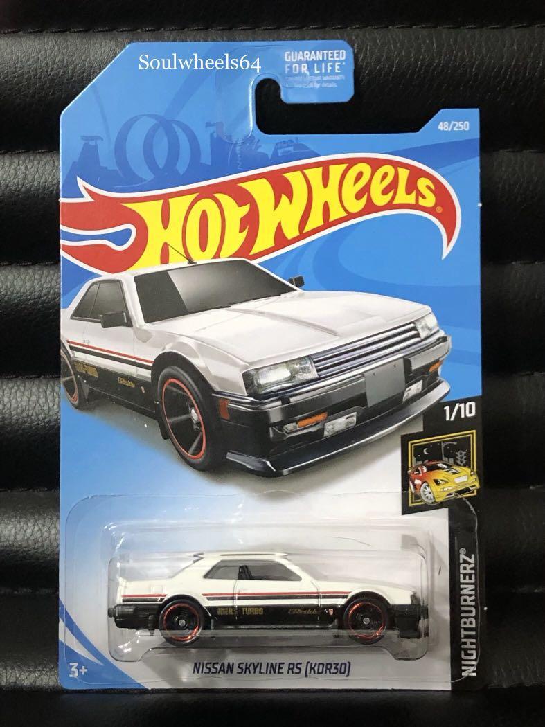 Clearance! Hot Wheels Nissan Skyline R30 (White)