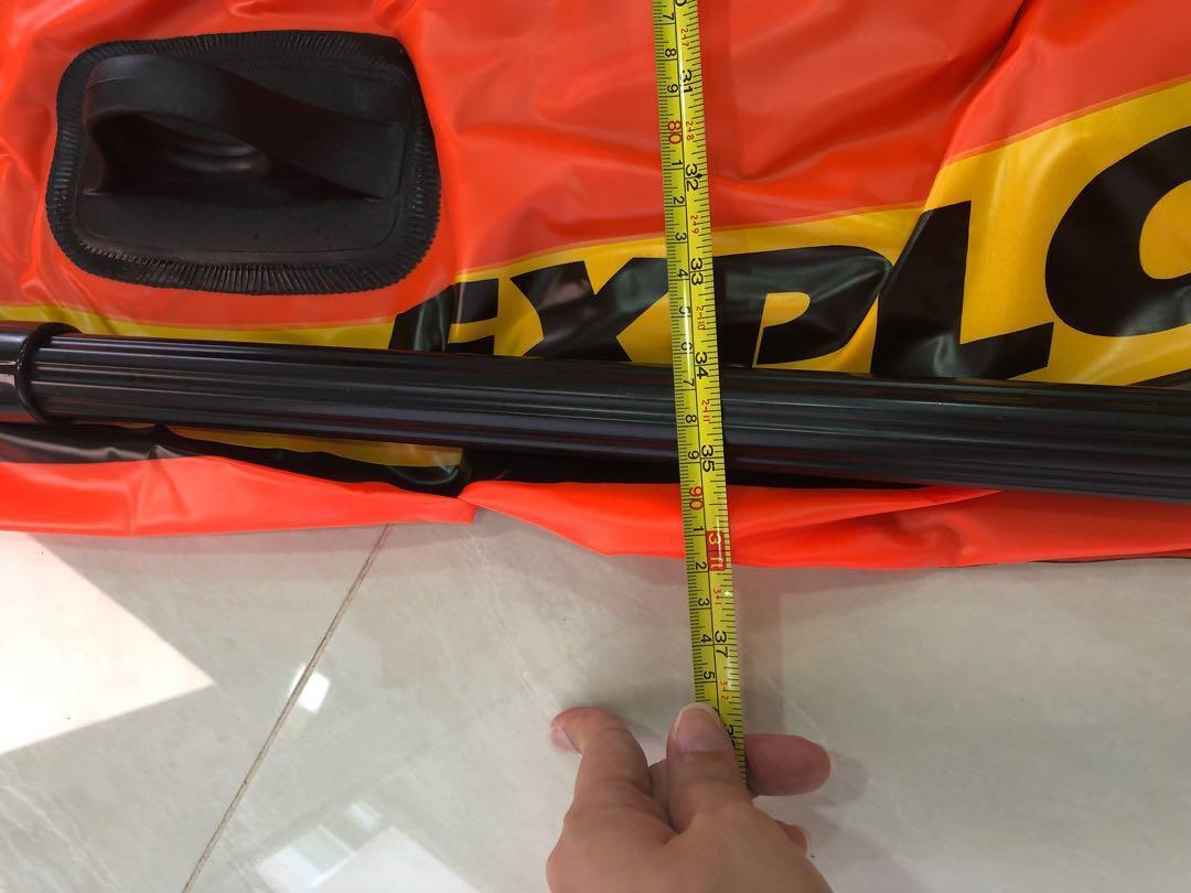 Intex raft Explorer 💯, Sports, Sports Apparel on Carousell