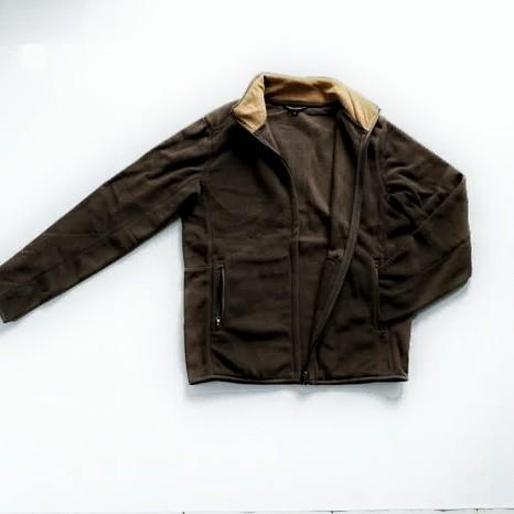 Jaket TopTen Soft Fleece Dark Brown