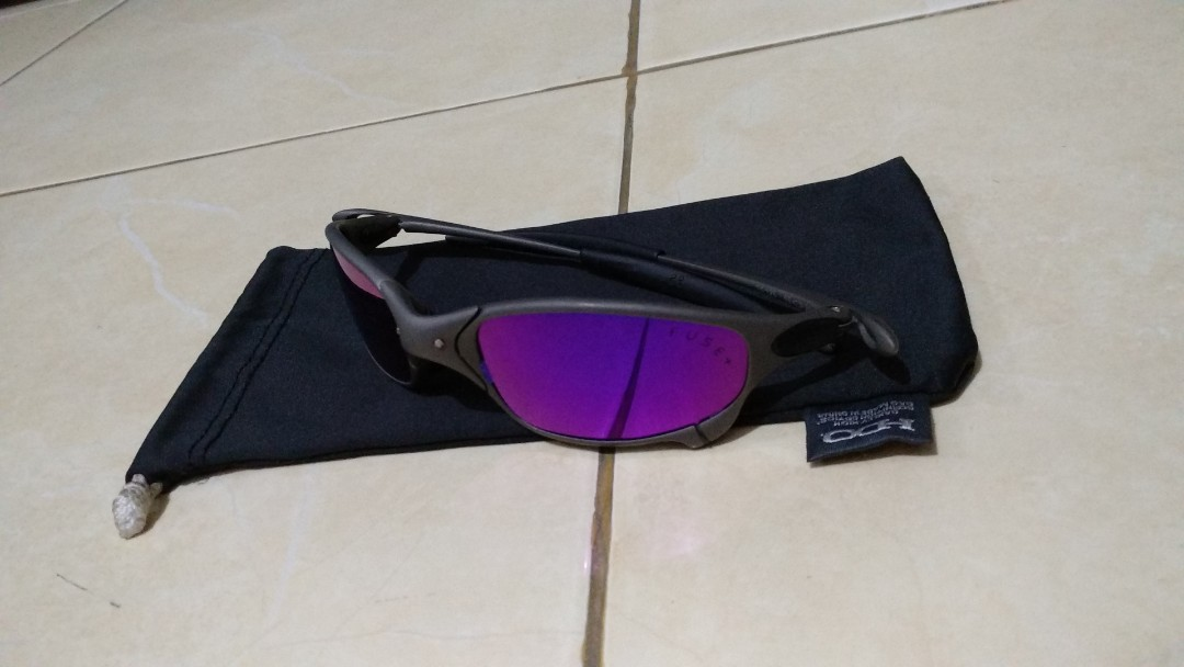 Kacamata Sunglasses Oakley Juliet X Metal Cosmic Mirror Polarized ... 64b89ed53d