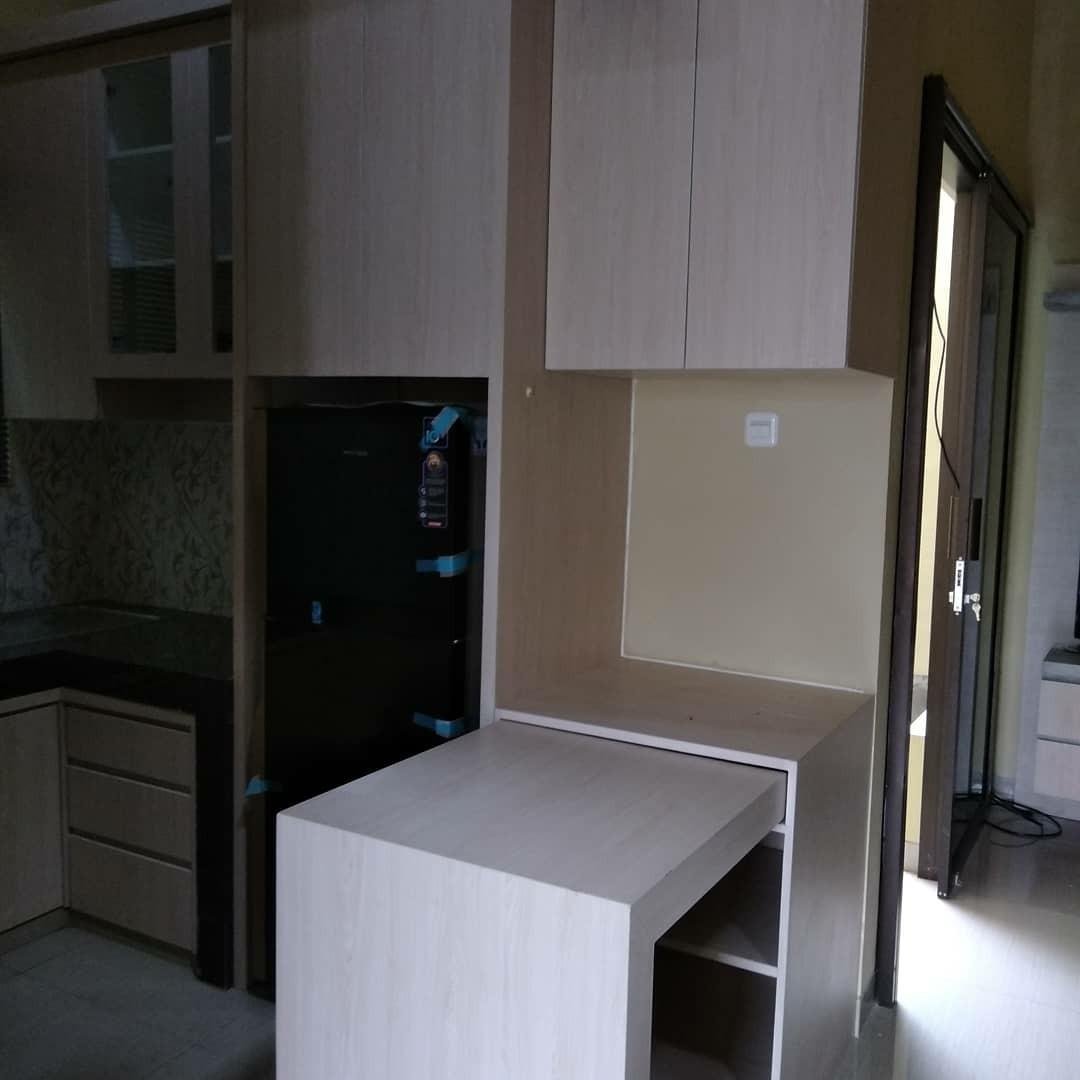 Kitchen set minimalis murah home furniture on carousell