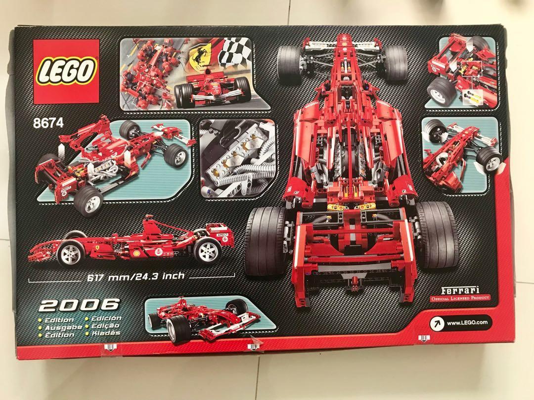 LEGO. 8674 Rare Ferrari boxed