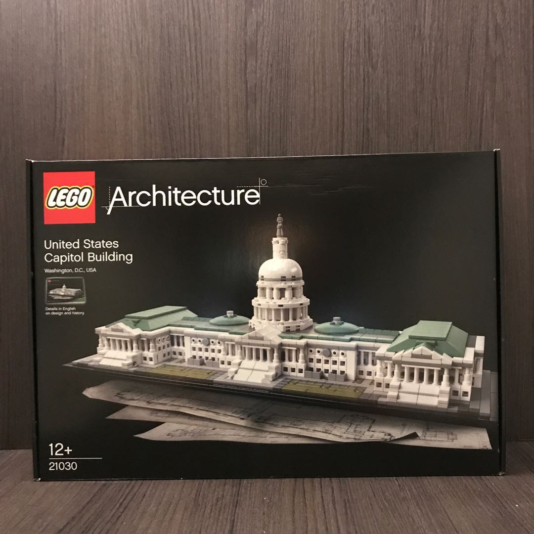 lego architecture capitol building - HD 1080×1080