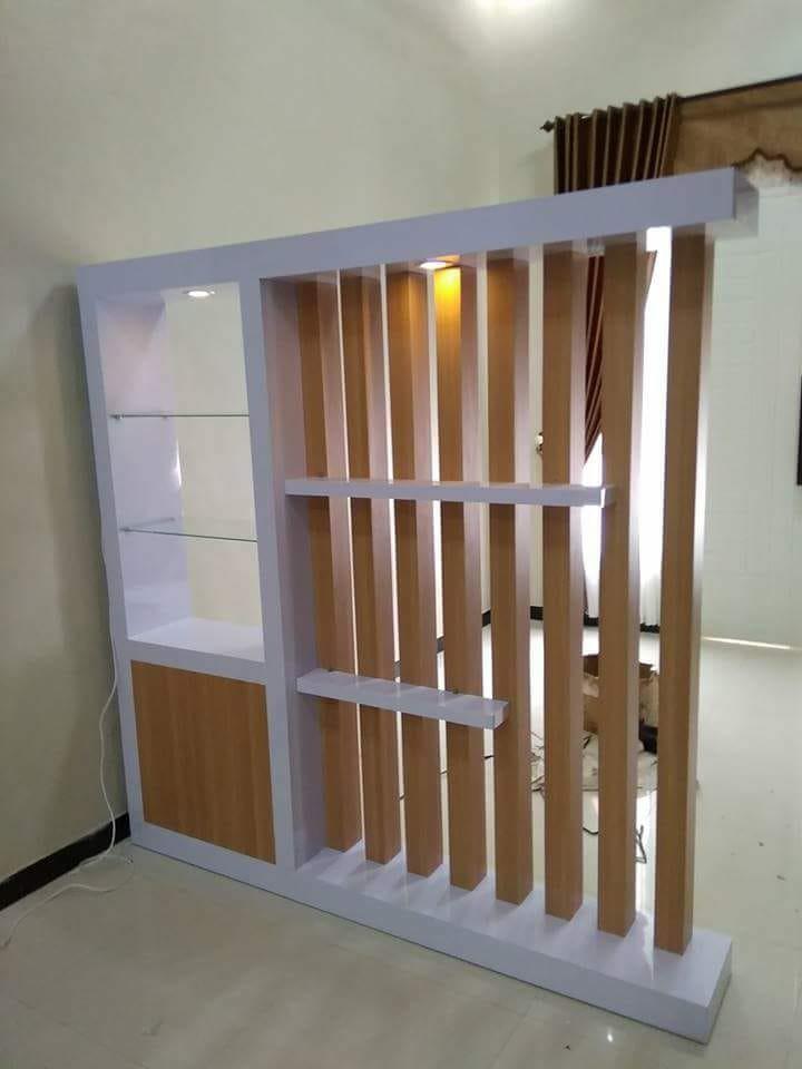 Lemari Hias Ruang Tamu Minimalis Home Furniture On Carousell