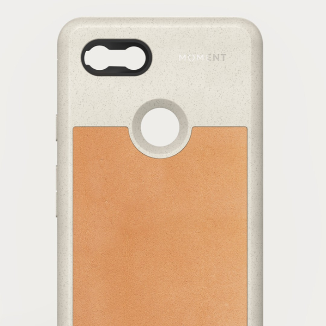 the latest ce4e8 06ffc Moment Phone Case Pixel 3 XL Leather Tan