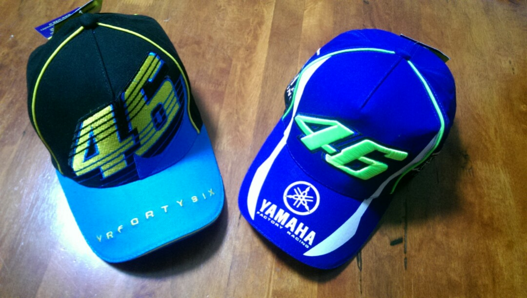 88bded7525ca3 Caps motogp inspired 46   Yamaha embroidered