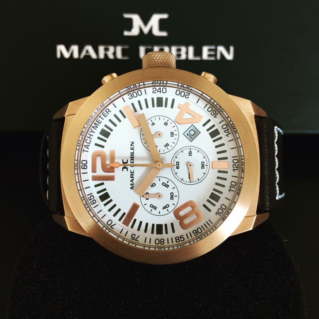 NEGOTIABLE ~Brand New Marc Coblen by TW Steel 42mm Chronograph Watch RRP $379.00