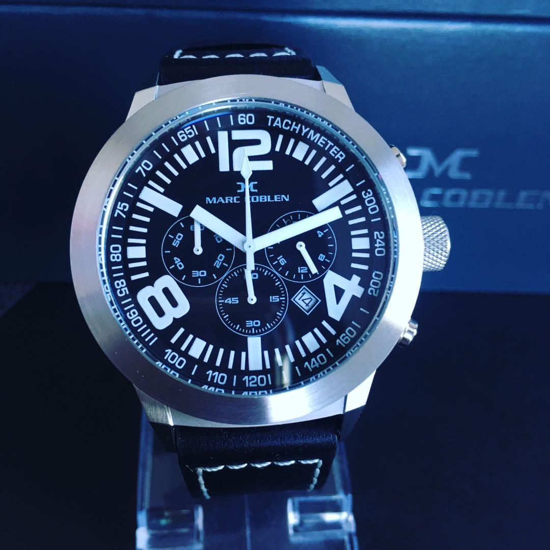 NEGOTIABLE ~Brand New Marc Coblen by TW Steel 45mm Chronograph Watch RRP $399.00