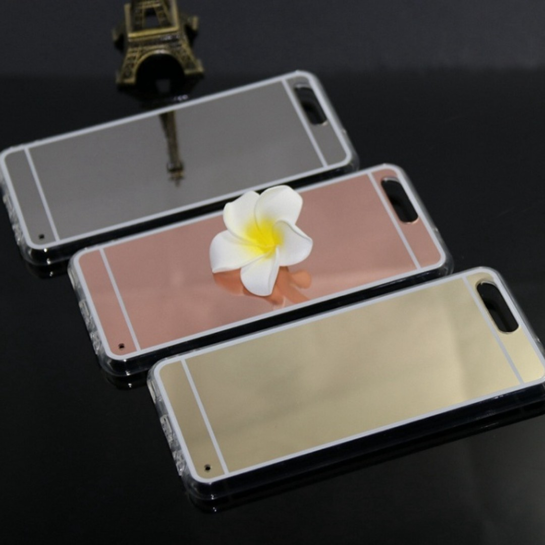 promo code a645f 465e9 New Back Cover Mirror Case for Huawei P10, Lite and Plus