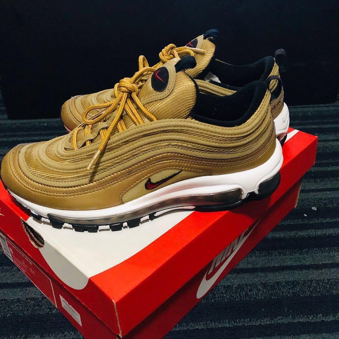 36b7fa9b3d9 Nike Air Max 97 Metallic Gold