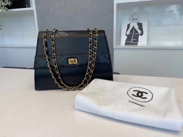 b7651f606bd76 not available now  Authentic vintage Chanel Bag