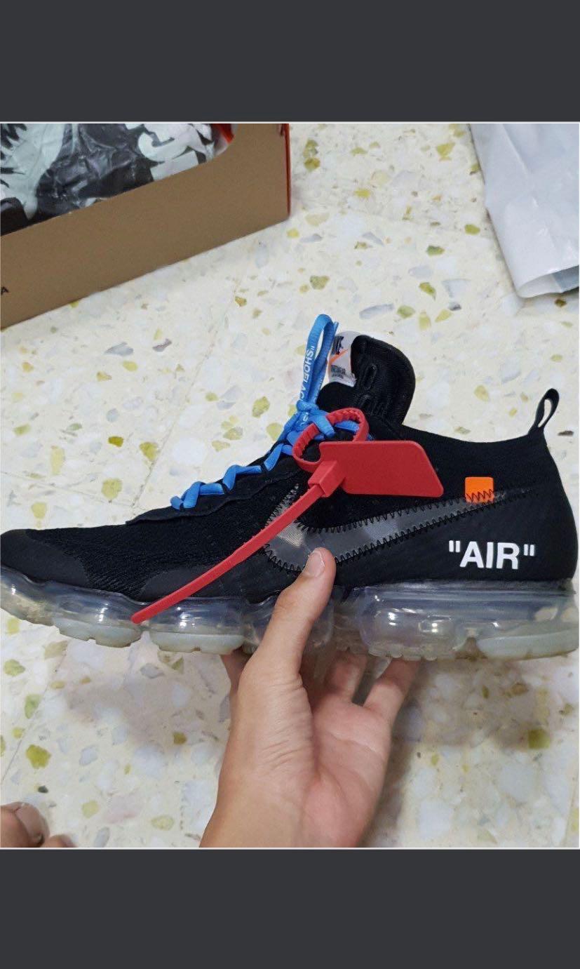 eb6a4e4db3 Offwhite Vapormax Black 2.0 US 11, Men's Fashion, Footwear, Sneakers ...