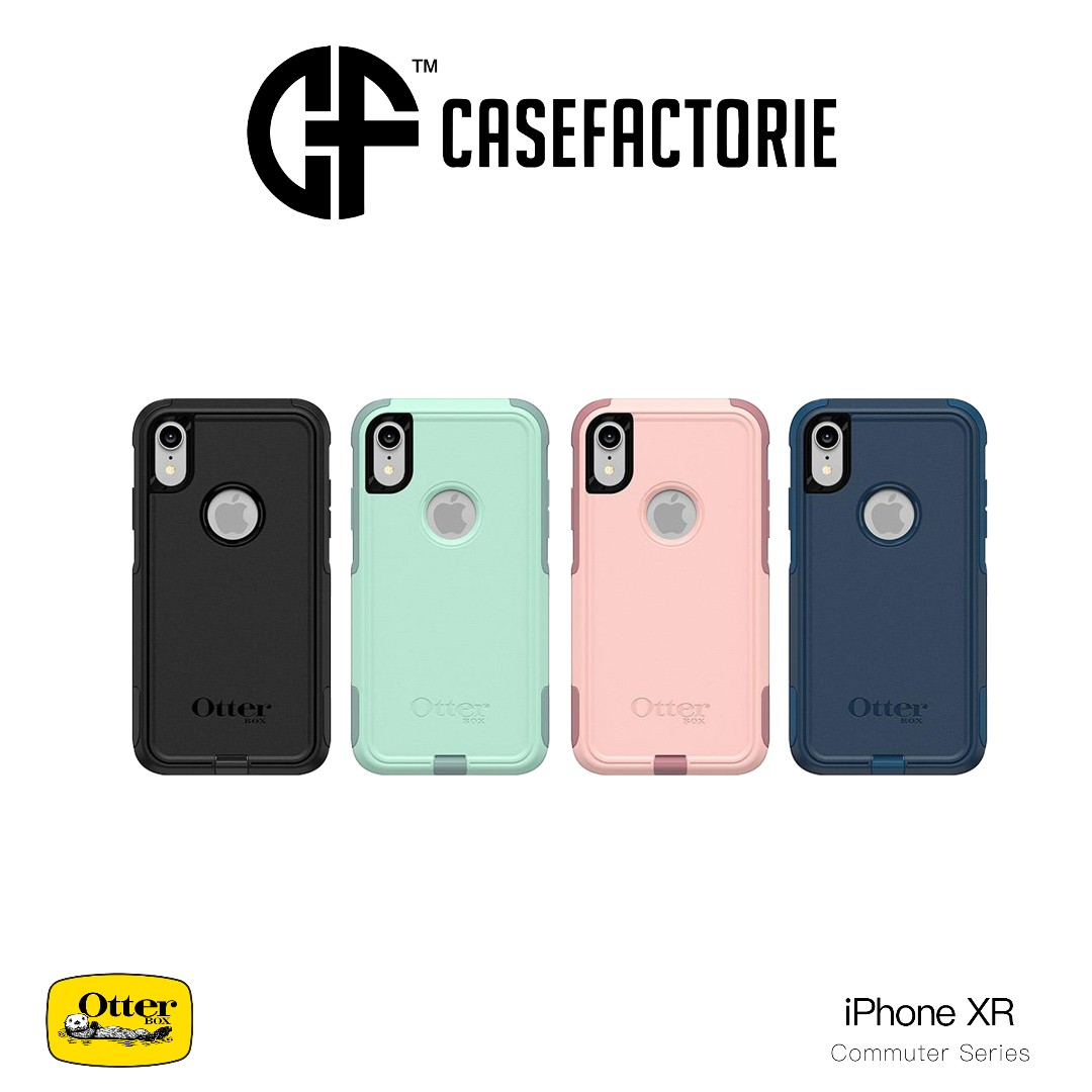 half off 674a3 a765d Otterbox Commuter Rugged Case for iPhone XR