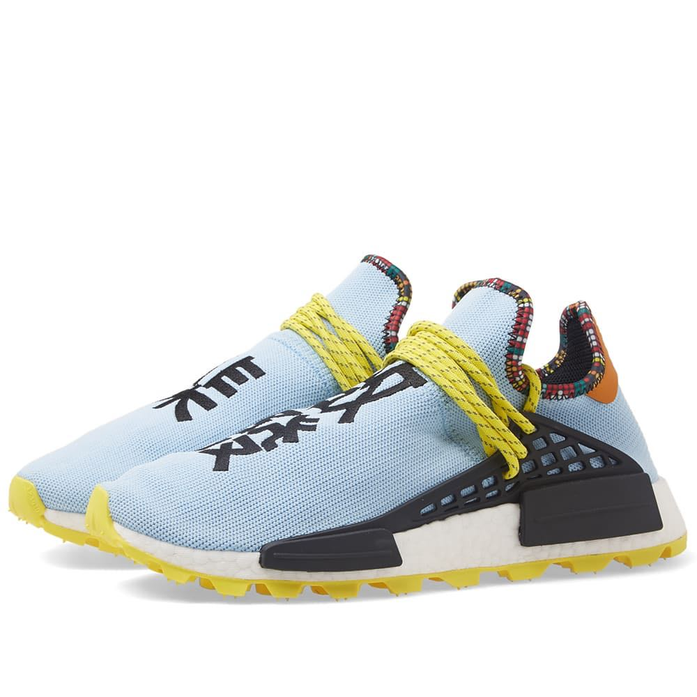 840c6085e Pharrell Williams x Adidas NMD SOLARHU BLUE