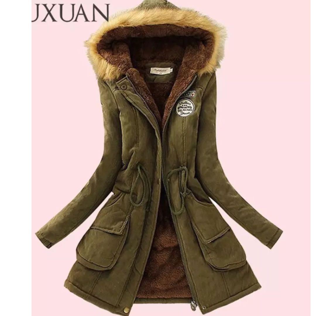 6bf271d3c93a PO) S-XXXL Women Parka Fashion Autumn Winter Warm Jackets Women Fur ...
