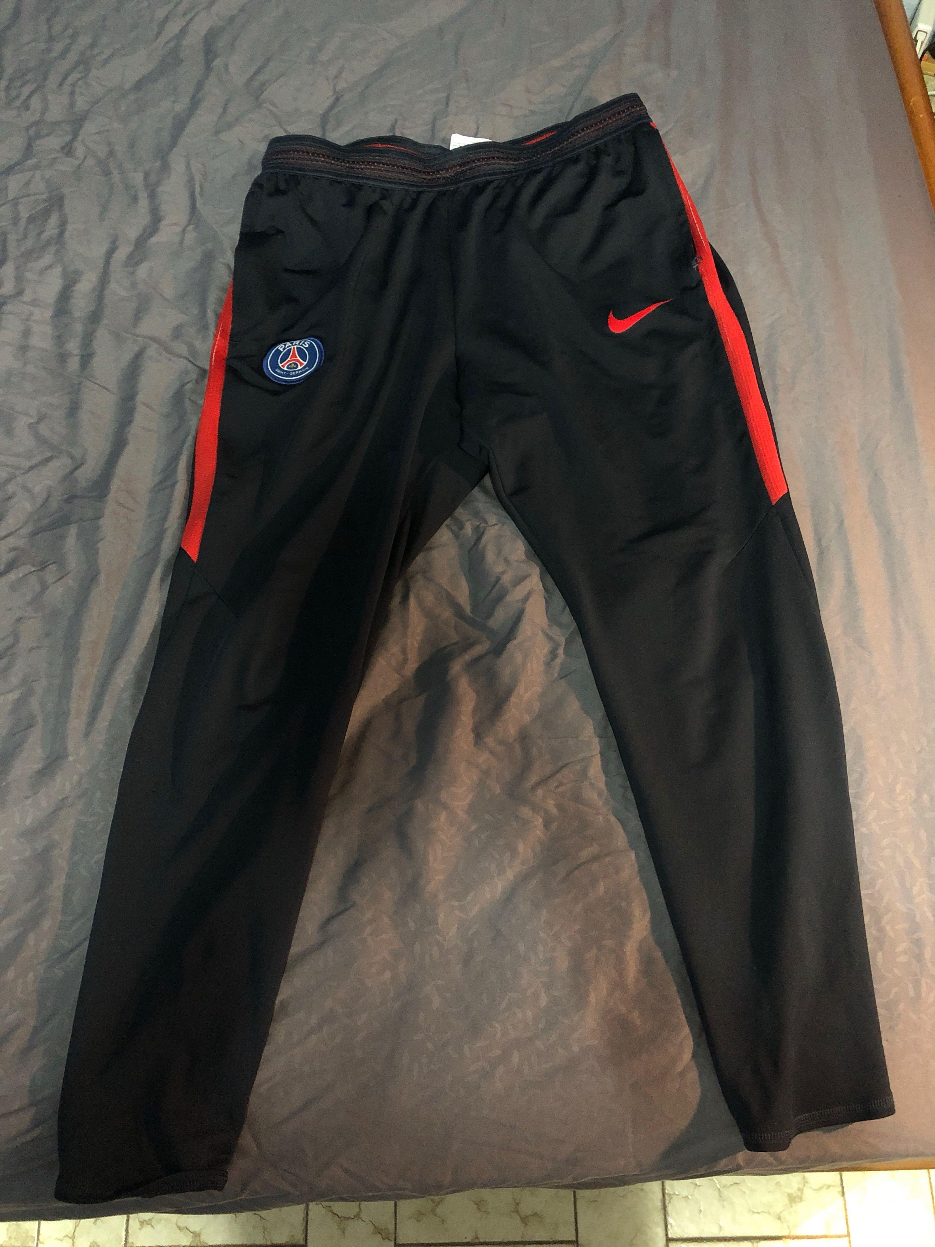 new product 1bb54 0d067 PSG Nike Soccer Trackpants, Men's Fashion, Clothes, Bottoms ...