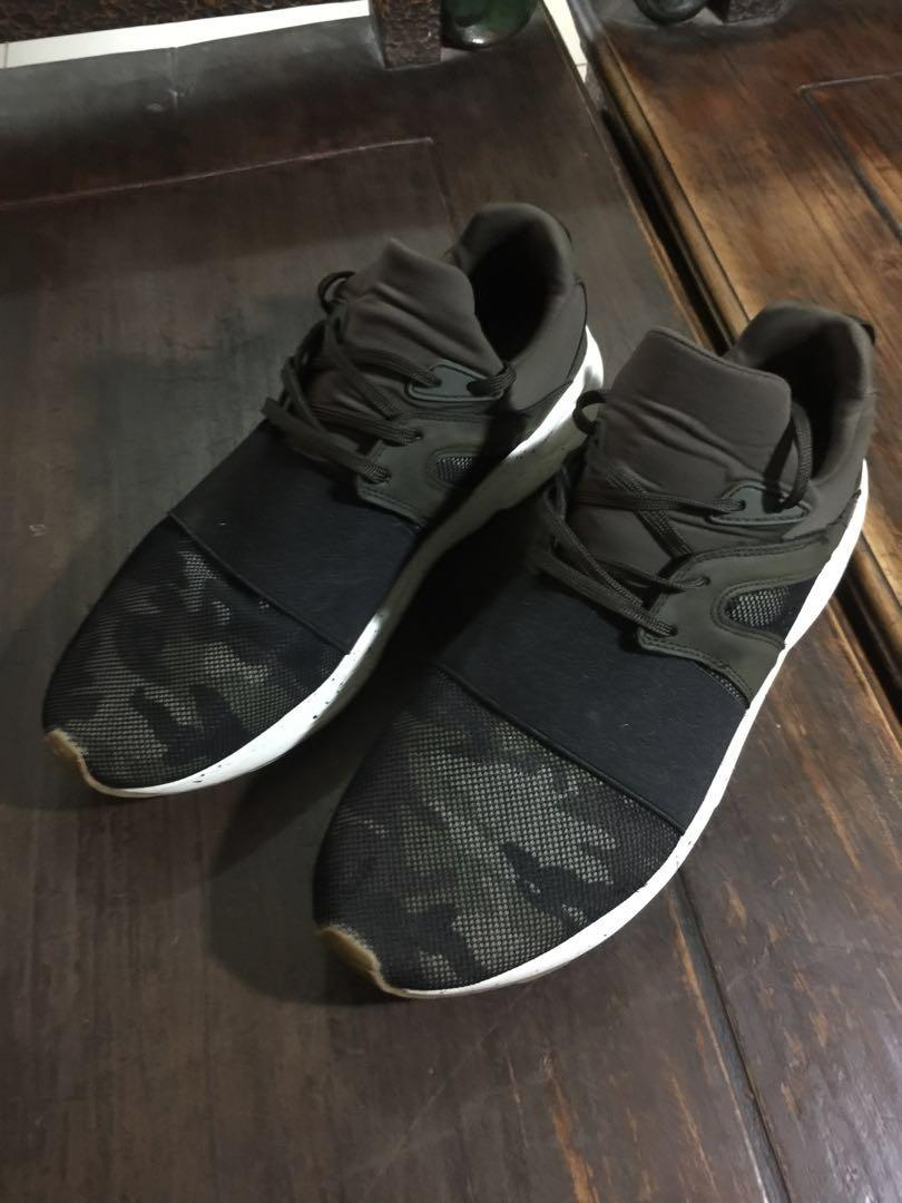 Pull & Bear army sneakers