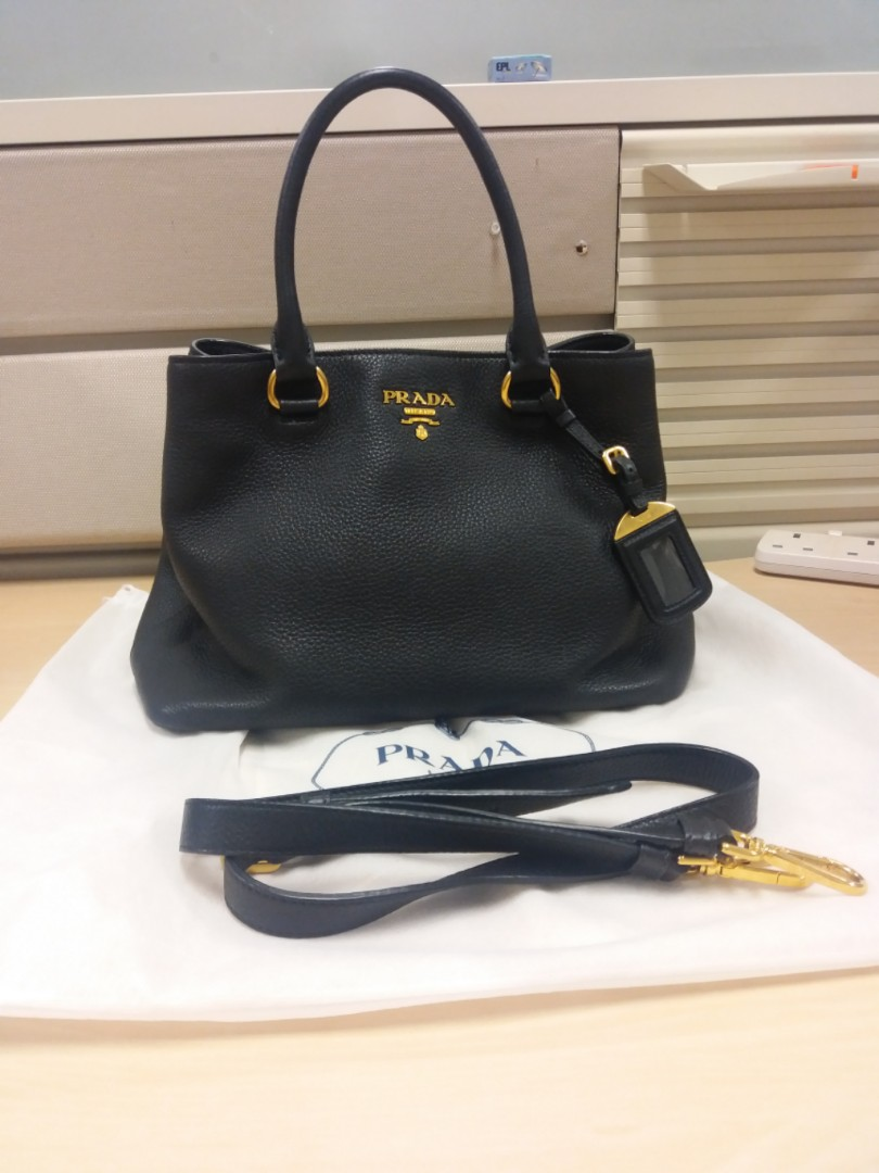 974eb36ed4d2 Reduced price! Authentic Prada Bag w strap