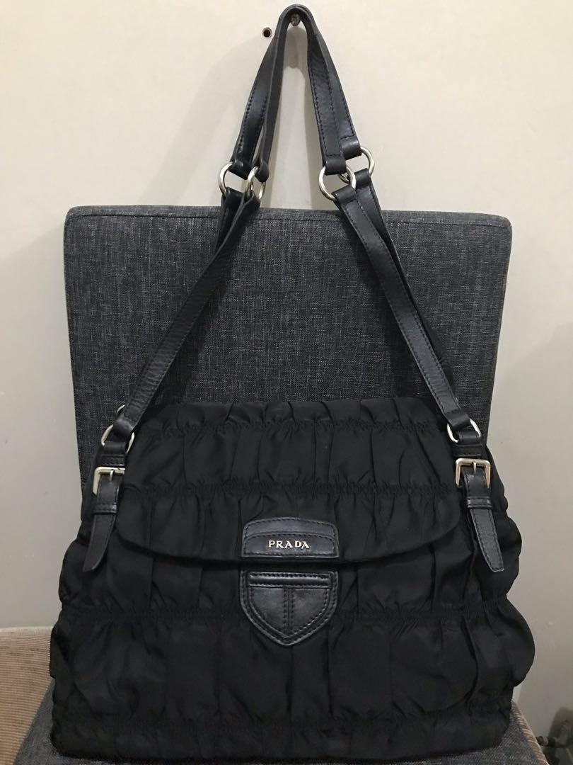 dc6fc64261 REDUCED PRICE Prada Nylon Handbag Large, Luxury, Bags & Wallets on ...