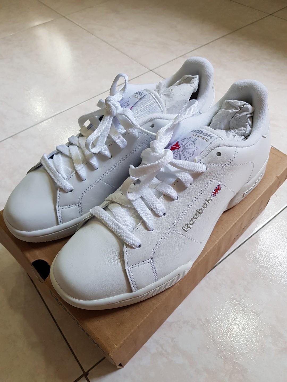 3013e31efb7 Reebok NPC II White sneaker