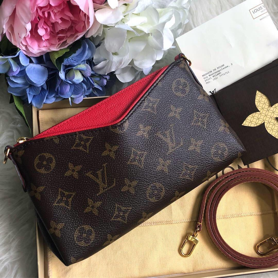 b31ce627baa ❌SOLD!❌ So rare and highly popular!💕 LV Pallas Clutch in Monogram ...