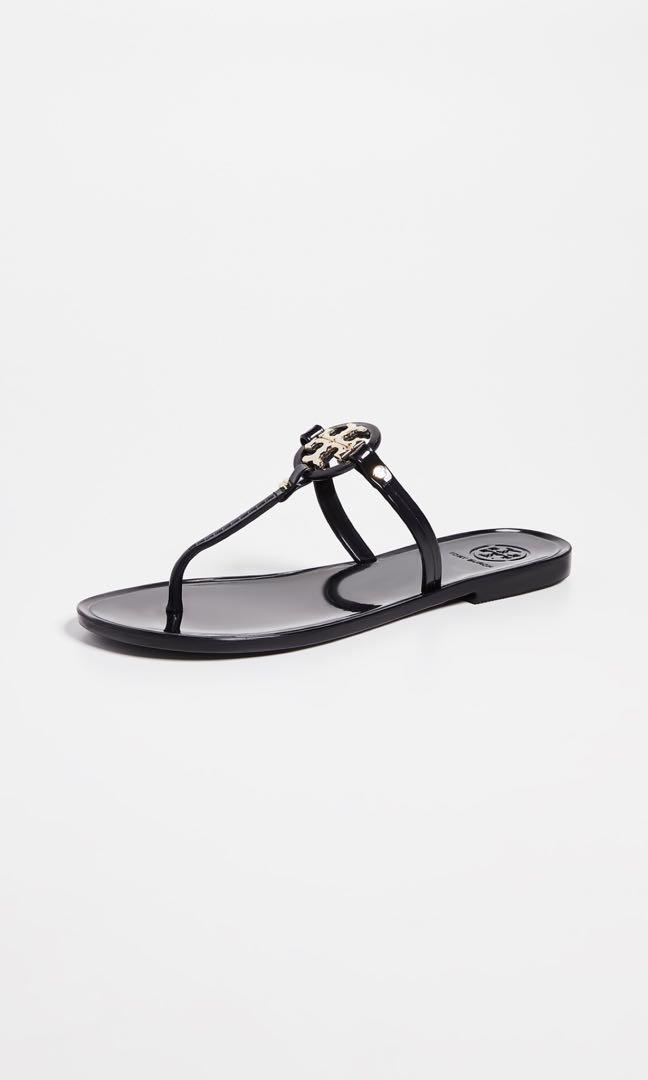 4090f426c12 Tory Burch Perfect Black Logo Sandals