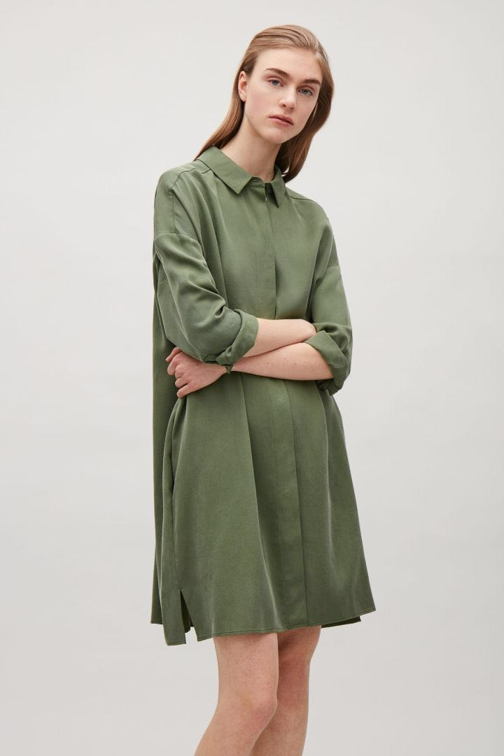 2318e17043c2f Tunic shirt dress from COS, Women's Fashion, Clothes, Dresses ...