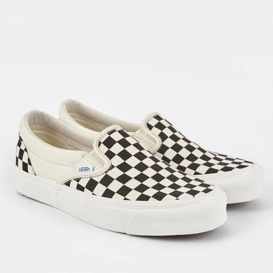 7025b3a6a8 US12 Vans Vault Slip On Checkerboard