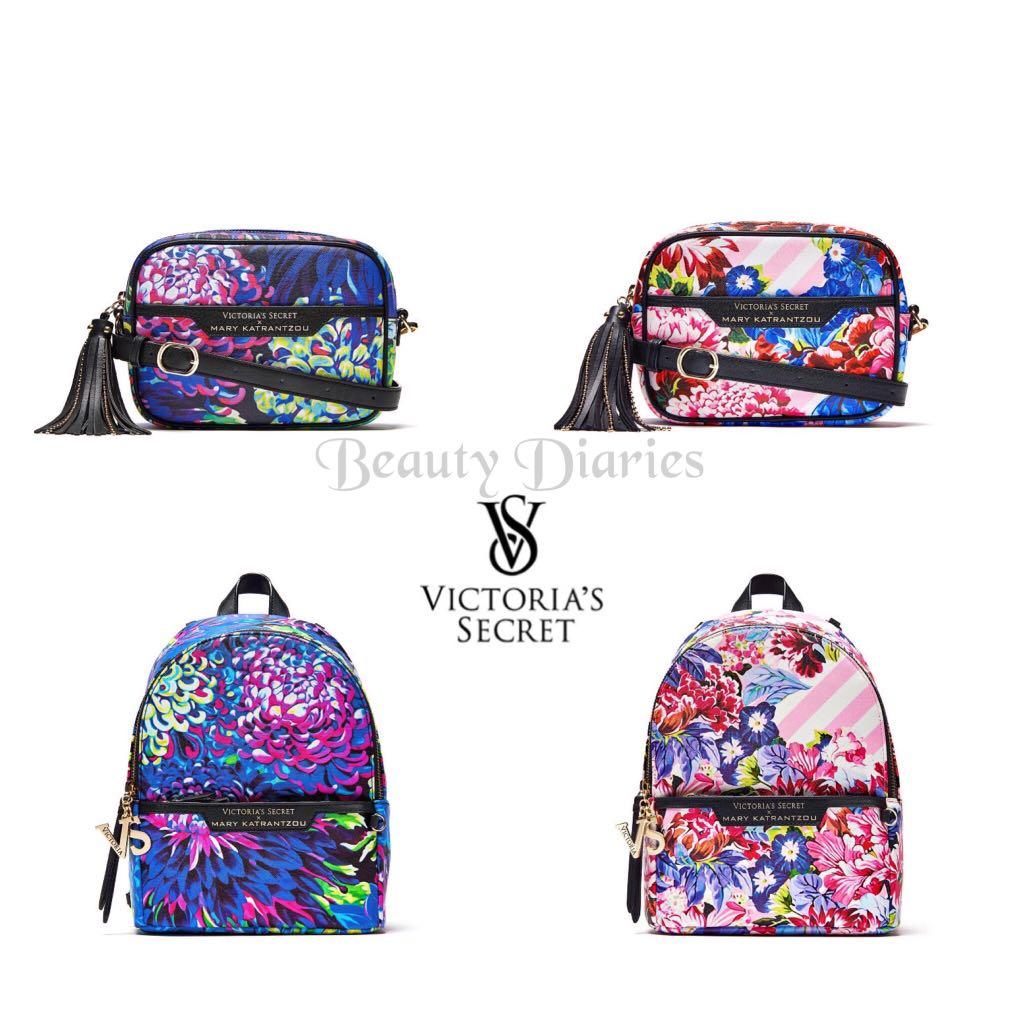 VICTORIAS SECRET X MARY KATRANTZOU Small City Backpack, Women s ... e696f50739