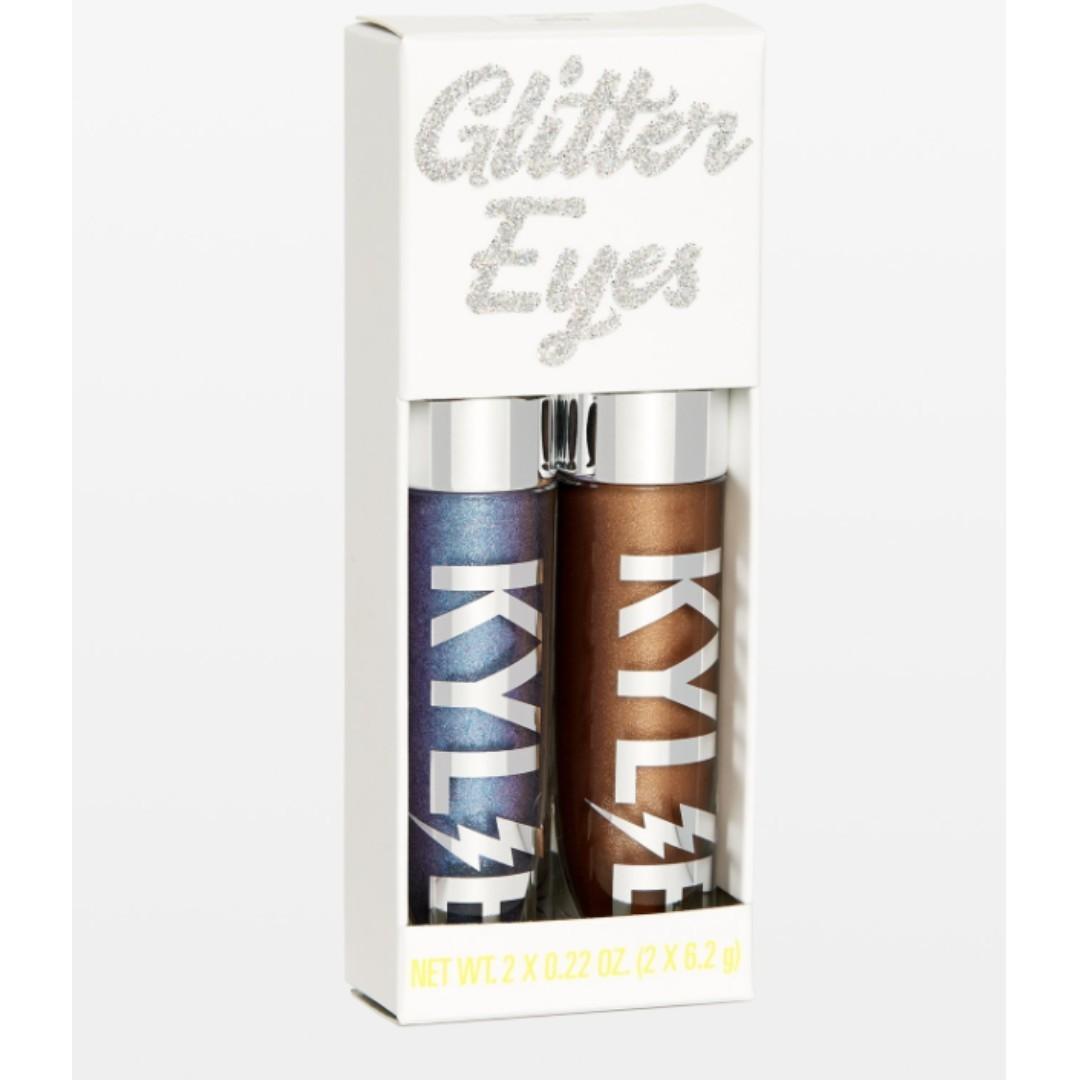 VIOLET MOON + DESTINY Kylie Cosmetics GLITTER EYES
