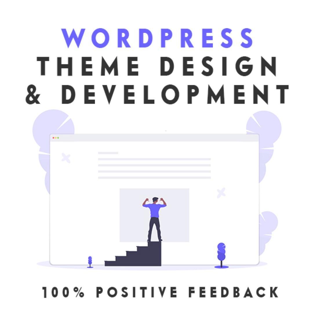 Wordpress Theme Design & Development