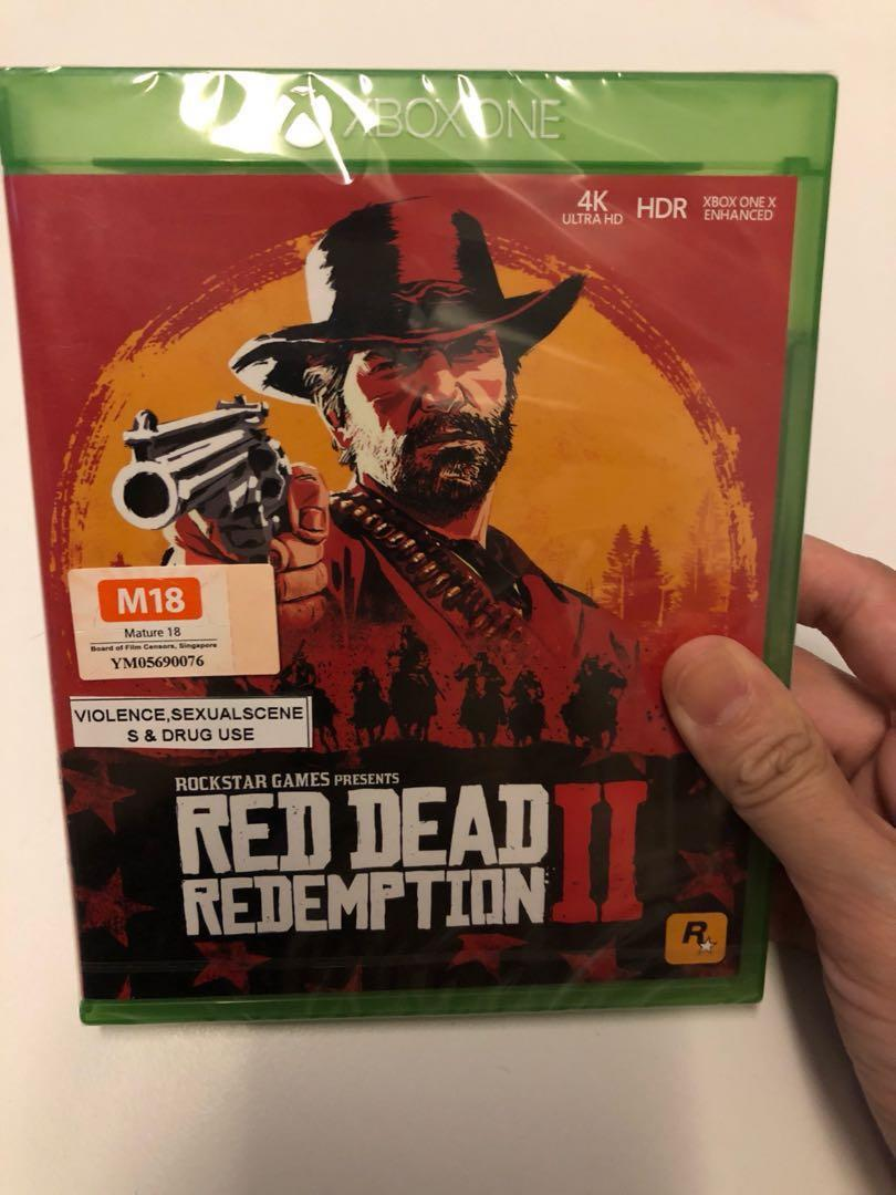 WTS- Xbox one Red Dead Redemption 2, Toys & Games, Video