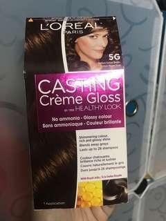 L'Oreal Paris Casting Creme Gloss Hair Color - Medium Golden Brown