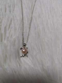 #DEC30 Wah Chan Pearl Deer Necklace