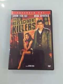 The Replacement Killers DVD Code 1 Chow Yun Fat Mira Sorvino Antoine Fuqua like new