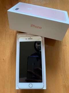 (9.9/10) Apple iPhone 7 Plus, Rose Gold, 128GB