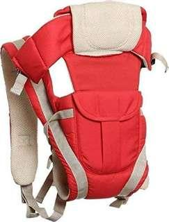 🚚 Ineffable Baby Carrier Shoulder Belt Sling Backpack Baby Holding Strap Adjustable Carry Bag Baby Carrier(Red, Front Carry Facing Out)
