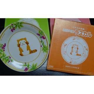 貨品: [日版] 世界名作劇場 Limited Collection 瓷器彩碟 - Rascal 可愛的浣熊 (可愛的浣熊)