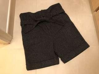 全新日本千鳥格圖案短褲