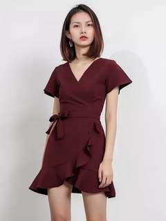 Premium quality ruffle dress