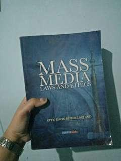 Mass Media Laws and Ethics Book