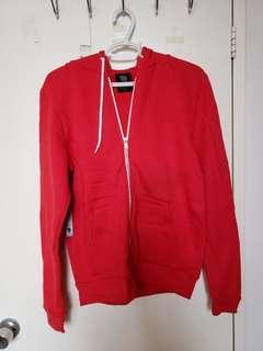 Aritzia Talula red zip-up - medium