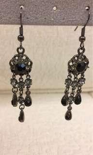 Accessorize long drop earrings