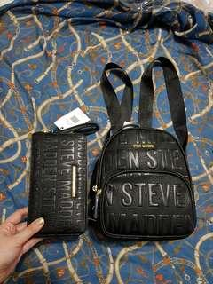 Original Steve Madden small Backpack with Zippy wallet