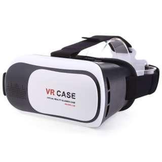 NEW UNUSED White VR CASE 3D Glasses