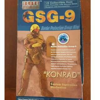 "Elite Force German GSG9 ""Konrad"" 12"" Military Action Figure"