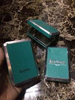 Tin rokok manchester hijau
