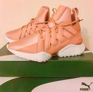 🚚 Puma 粉紅緞帶女神鞋