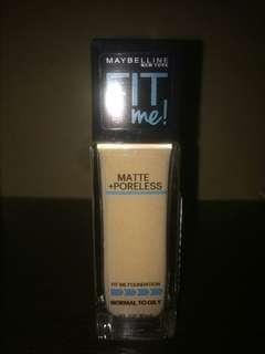 Maybelline Fit Me Matte + Poreless Foundation code 220 Natural Beige