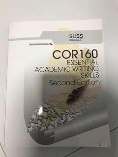 SUSS textbook COR 160 Essential Academic Wroting skills second editoon